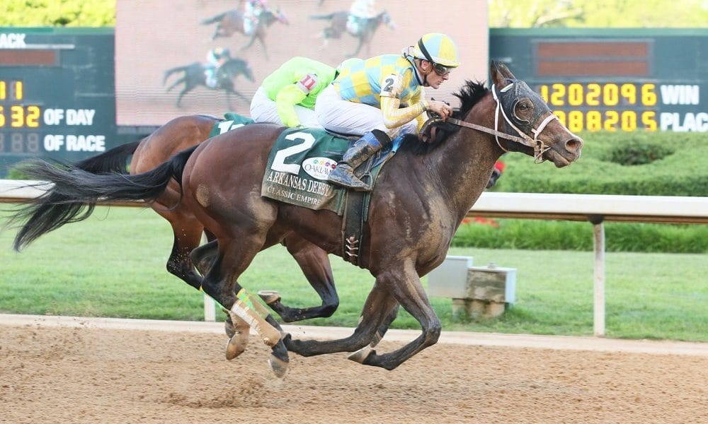 Classic Empire makes classic comeback in Arkansas Derby