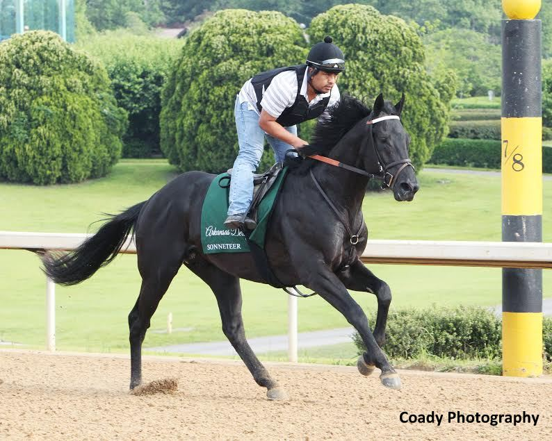 Sonneteer is the fastest closer in the Derby field if he makes it